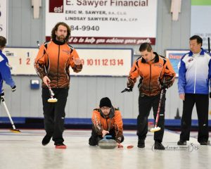 Kayle Miller, Shawn Demianyk, Ross LaVallee - Curling - CDG 2018