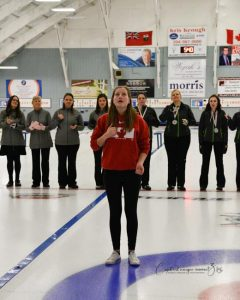 Brenna Koskie - CDG 2018 - Curling Closing Ceremony