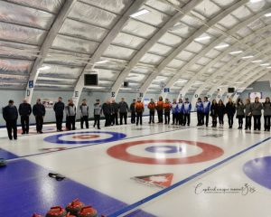 Curling - CDG 2018 - Closing Ceremony