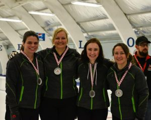 Team Bériault - Curling - CDG 2018 Medals
