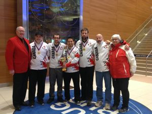 Team Comte - Gold at World Deaf Curling Championship 2017 in Sochi, Russia