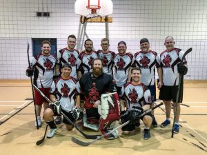 Deafpool Floor Hockey Team 2018